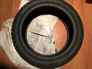 1 - Pneu Tire winter 19inch  Dunlop Sport