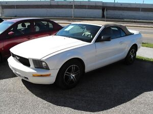 2008 MUSTANG CONVERTIBLE  AUTO  V6  LEATHER  SPRING READY ...