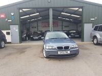 2002 BMW 320 2.0TD AUTOMATIC DIESEL E46 PX TO CLEAR