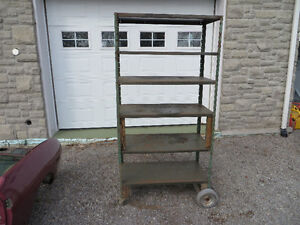 Heavy Duty Steel Shelving Unit