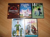 Lot of 5 DVDS's - Excellent Condition!  No Scratches