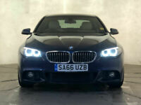 2016 66 BMW 520D M SPORT AUTOMATIC SAT NAV HEATED SEATS 1 OWNER SERVICE HISTORY