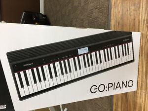Roland GO 61-P Keyboard Never Used