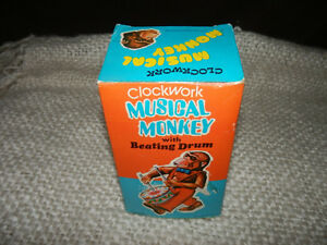 OLD MUSICAL MONKEY WITH ORIGINAL BOX Kitchener / Waterloo Kitchener Area image 4