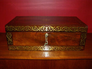 Collection of Antique Boxes - Tea Caddies Lapdesks Knife Boxes London Ontario image 1