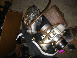 Skidoo prs exhaust and carbs with cables Kitchener / Waterloo Kitchener Area image 3