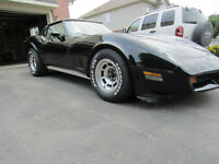 1980 Corvette, solid frame and body
