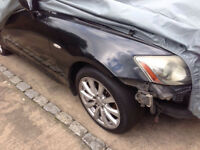 Lexus is220d wing fender driver off side 06+ breaking spares can post is220 d is 220 is250 250