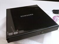 EXTERNAL SLIM DVD/RW SAMSUNG * BRAND NEW BOXED NEVER USED! ***NO TEXTS PLEASE***