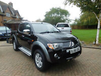 2006 56 Reg Mitsubishi L200 2.5DI-D 4WD Double Cab Pickup Warrior