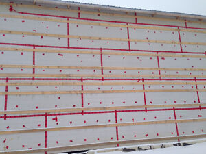 Rigid Foam Insulation Wallboard 4ftx8ft Sheets