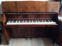 Bentley Resonoura Art Deco Upright Piano. Well looked after