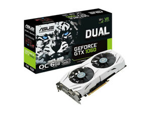 Asus GTX 1060  6gb and 3gb Graphics Cards