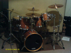 40 year Rogers drum kit