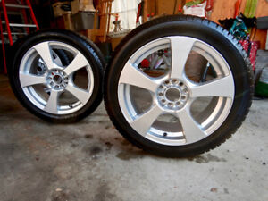 Alloy Wheels and Nokian Tires for VW or AUDI