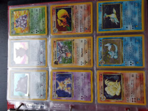 base, fossil, and jungle holos for trade/sale