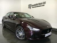 2014 [64] Maserati Ghibli 3.0TD **33k Full History** Rosso Folgore Pearl paint!