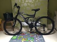 "Full suspension 26"" mountain bike with extras !!!"