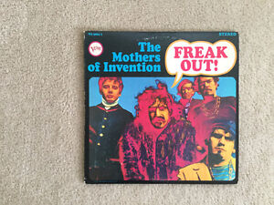 The Mothers of Invention Freak! Out 33 1/3 RPM vinyl LP