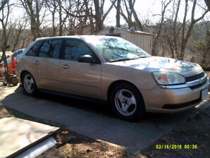 2005 Chevrolet Malibu LS model Hatchback