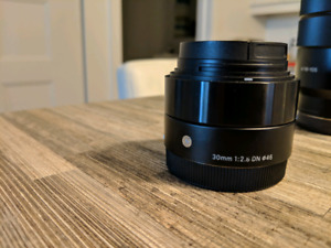 Sigma 30mm 2.8 Art pour Sony e-mount