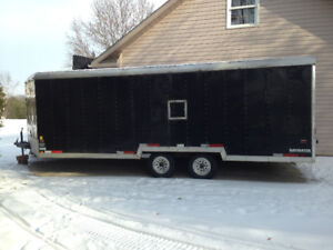 Large enclosed snowmobile/atv trailer for sale