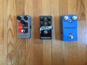 Pedals for Sale! Compressor, Reverb, Overdrive