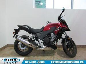2013 Honda CB500X ABS avec seulement 14000 km - 27$/semaine