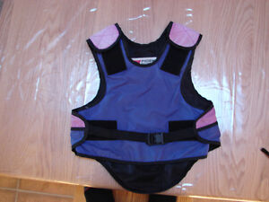 Equestrian Horse/Pony Riding Safety Vest - Youth XS -