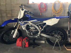 2016 Yamaha YZ250F Almost Brand New!