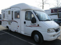 2004 Rapido Le Randonneur 785F 4 Berth Rear Fixed French Bed Motorhome for Sale