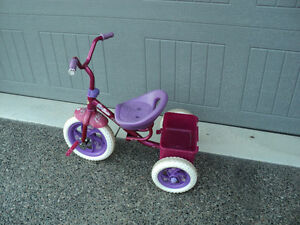 "SMALL GIRLS TRIKE! "" DREAM DAZZLER TRICYCLE"" ~ PINK! CUTE!!"