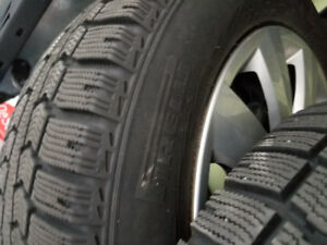 215 16 R16 95T Winter Tires on Rims Pirelli Ice Control Like New