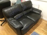 2 and 3 seater sofas with matching foot rest