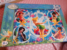 Disney Fairies 100 Piece Jigsaw Puzzle, for age 6+