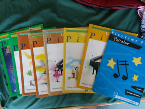 Beginners piano books