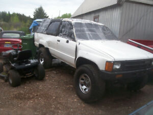 88 4runner/74 Fiat Spider/96 Coachman/2001 Shadow/2000 Miata