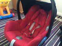 Maxicosy car seat & accessories