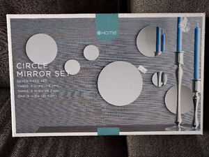 Target Circle Mirror Set - Wall Decor