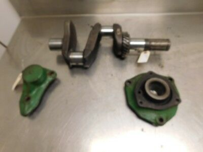 John Deere H Tractor Crankshaft With Mains H225r H231r H234r 13383