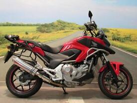 Honda NC700XAD 2014 *Low miles, Heated grips, Givi screen, Beowulf exhaust*