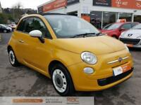 FIAT 500 C COLOUR THERAPY 2013 Petrol Manual in Yellow