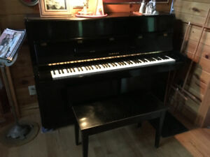 Hardly used Yamaha Upright Piano made in Japan in 1974.