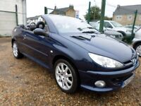 Peugeot 206 1.6 ALLURE COUPE CABRIOLET (blue) 2007