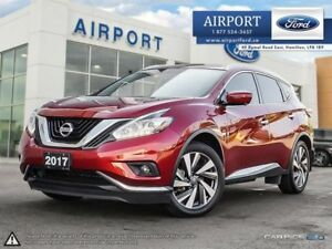 2017 Nissan Murano AWD Platinum with only 32,122 kms