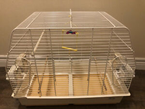 Canarie , budgie  and finch bird cage large size white colour
