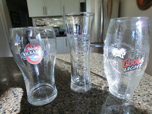COLLECTION OF 3 BEER GLASSES