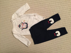 Gap girl lot size 6-12 months