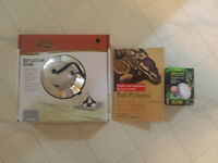 Zilla 8.5 inch Reflector Dome new in box ball python book