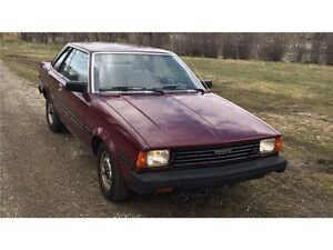 1983 Corolla  Relisted deal fell through.